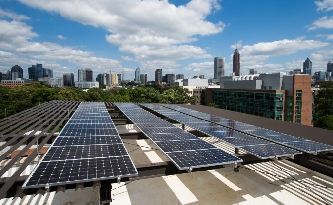 Frame Tech Buildings : Campus solar energy office of sustainability